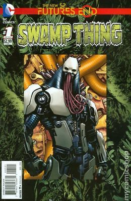 Swamp Thing Future's End 1B 2014 FN Stock Image