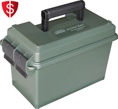 Ammo Can 50 Cal Military Caliber Box Army Storage Box Container Ammunition Lock