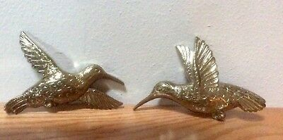 Set Of two Vintage Homco Hummingbirds, 5x3, 1975