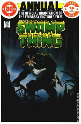 Swamp Thing (2nd Series) Annual #1 1982 FN Stock Image