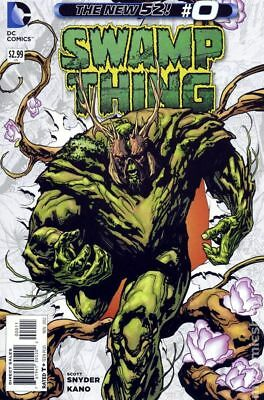 Swamp Thing (5th Series) #0 2012 FN Stock Image