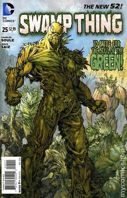 Swamp Thing (5th Series) #25 2014 VF Stock Image