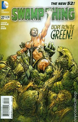 Swamp Thing (5th Series) #27 2014 NM