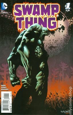 Swamp Thing 1A 2016 VF- 7.5 Stock Image