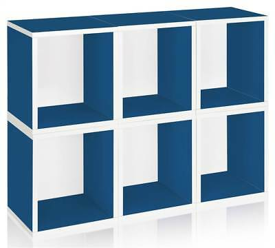 Storage Cube Plus in Blue - Set of 6 [ID 133037]