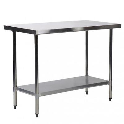 "30""x36"" Stainless Steel Kitchen Work Table Commercial Kitchen Restaurant table"