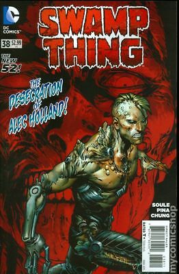 Swamp Thing (5th Series) #38 2015 FN Stock Image