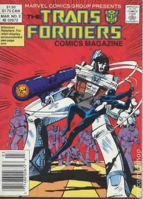 Transformers Comic Magazine Digest #2 1987 VF Stock Image