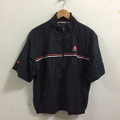 Le Coq Sportif Windbreaker Jacket Golf Tennis Vintage Men's Size Large S/S