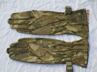 Gloves Combat Warm Weather, MTP, Multicam Leather Gloves, Dated 2012, Size 9