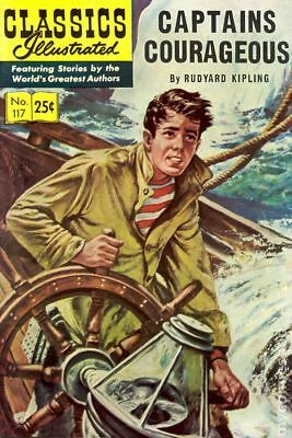 Classics Illustrated 117 Captains Courageous #3 1969 FN Stock Image