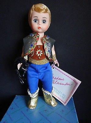 "Vintage Madame Alexander Doll 306 Lion Tamer Boy 8"" 1990 Tag Original Box MINT"