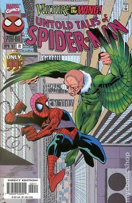 Untold Tales of Spider-Man #20 1997 VG Stock Image Low Grade