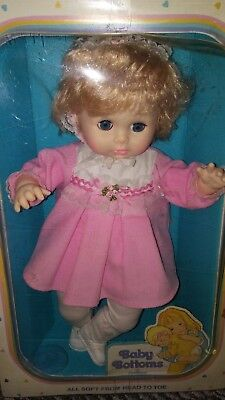 Vintage Eg Goldberger Baby Bottoms Doll New In Box- Nos ~ Free Shipping ~