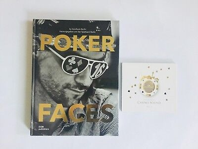Poker Faces Buch + Casino Sound Vol. 1 CD - Spielbank Berlin SET Casino NEU