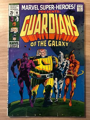 Marvel Super Heroes #18 1968 First Guardians of the Galaxy