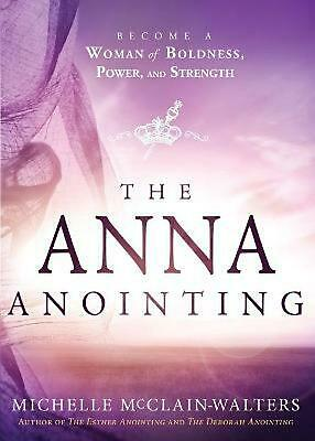 Anna Anointing by Michelle Mcclain-walters Paperback Book Free Shipping!