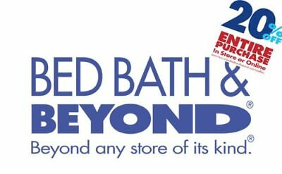 Bed Bath & Beyond 20% Off Entire Purchase Coupon Discount