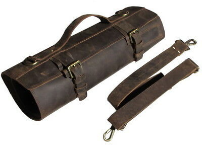 Professional Chefs Bag Knife Roll Leather Knife Case - Bedouin B