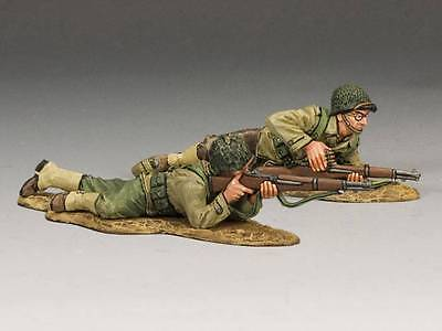 King & Country DD148 US GIs Firing Back - RETIRED - Mint in the Box