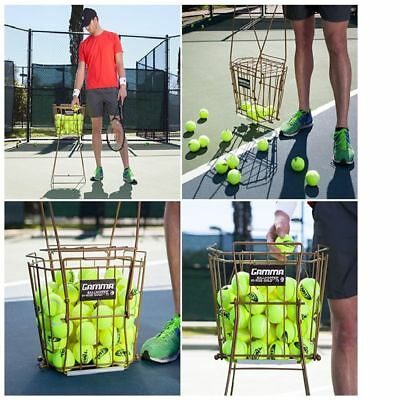 Tennis Ball Pick Up Hopper Gamma Sports Ballhopper  Pro 75 Balls Tennis Training
