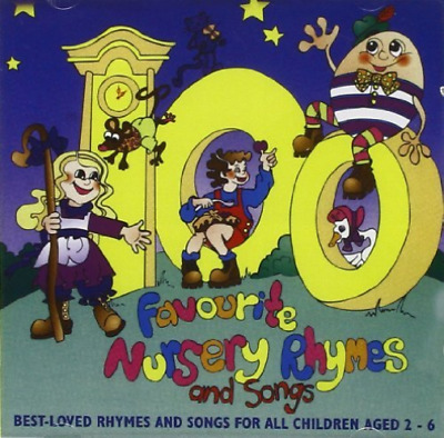 Various Artists 100 Favourite Nursery Rhymes And Songs Uk Import Cd New