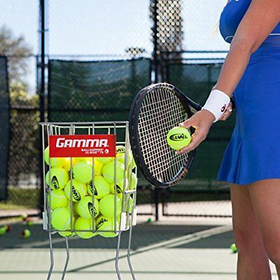 GAMMA Tennis Ball Pick Up Hopper SPORT  Ballhopper  Pro 75 Balls Tennis Training