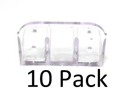 (12) Pack Roof Ice Guard Snow Guard  Snow Stop Buildup Plastic JUMBO
