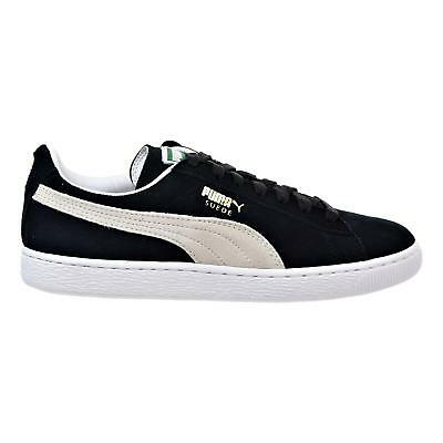 Puma Suede Classic Mens Womens Black Suede leather Trainers Size 3-8