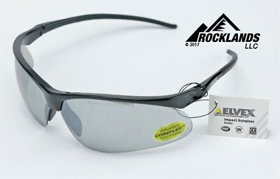 a0397246f8d Elvex Impact Series WELRSG500 Safety Shooting Sun Glasses Ballistic Rated  Z87.1