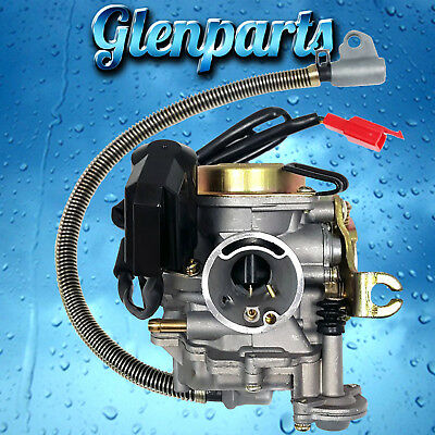 CARBURETOR FOR 4-STROKE GY6 139QMB 36mm Air Filter 50CC
