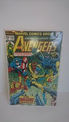 AVENGERS 144 First appearance of Hell Cat Patsy Walker. NM 9.2 Cent Edition.