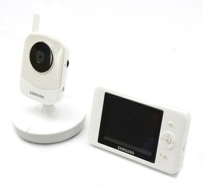 Samsung BrightVIEW HD Baby Video Monitoring System w/ Camera SEW-3043W, Used