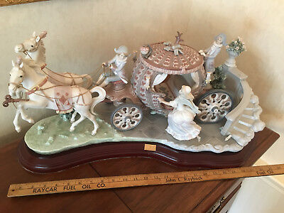 Lladro #357 Cinderella At the Stoke of 12 Limited Edition, Retired