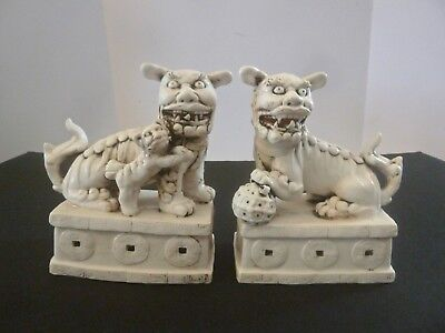 Nice Pair of Chinese Porcelain Bookends