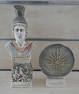 Alexander the Great Macedonian set of 2 artifacts - Vergina King Ancient Greece