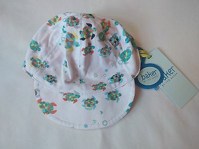 Baby Boys Ted Baker Reversible Cap/Hat - Turtle Design - 6-12 Months - Brand New