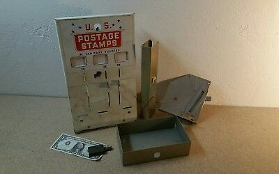 Vintage 25 Cent U.s. Postage Machine (Parts Lot)