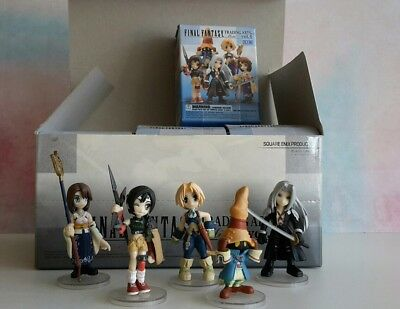 Final Fantasy Trading Arts Mini Vol. 4 - Komplette Box mit 9 Figuren