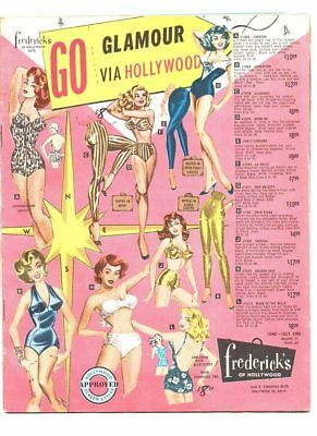 Fredricks of hollywood catalog june 1960