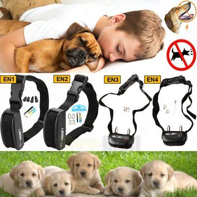 Anti No Bark Vibration Shock Dog Trainer Stop Barking Pet Training ControlCollar