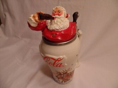 Coco Cola Santa Charatcer stein