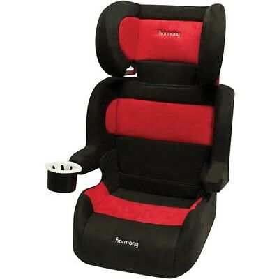 Harmony Folding Red Travel Full BOOSTER SEAT Belt Positioning Car Seat