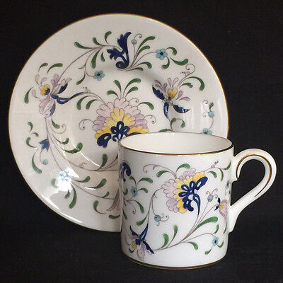 Vintage Coalport Pageant Fine Bone China Demitasse Cup and Saucer
