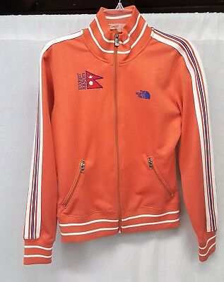 d6cee6083c Womens The North Face A5 Series Everest 8850M Full Zip Track Jacket Large  Pink