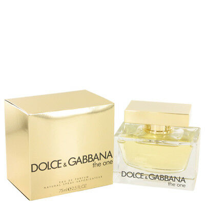 The One Perfume By DOLCE & GABBANA FOR WOMEN 2.5 oz Eau De Parfum Spray