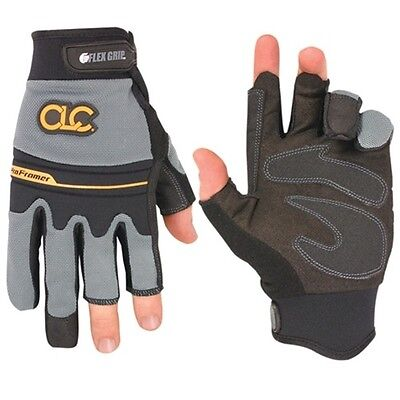 CLC Custom Leather Craft 140M Flexgrip Fingerless Pro Framer XC™ Gloves, Medium