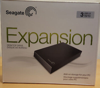 *** Seagate Expansion 3TB 3,5 Zoll Festplatte USB 3.0/2.0 ***