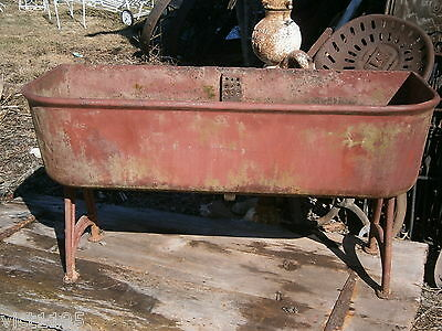 J L Mott Iron Works Industrial Sink Tub Trough