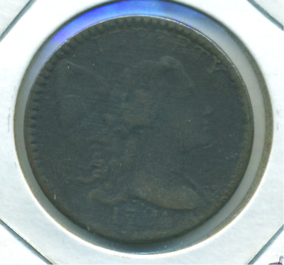 1794 Large Cent Fallen 4 Variety